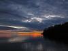 Sunrise on Flood Bay . . . (doc030395) Tags: lakesuperior northshore twoharbors floodbay sunrise early morning hiking minnesota shoreline silhouettes