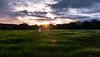 Rain, rain, go away (Bai R.) Tags: sunset sun sky dramatic light girl green springtime spring colors child childhood funny grass