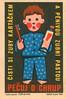 czechoslovakian matchbox label (maraid) Tags: czechoslovakian matchbox label czechoslovakia czech packaging heath teeth clean cleaning kids children toothbrush toothpaste 1960s 1964 uuzo