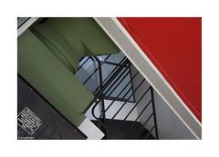 Brutal Colour © (wpnewington) Tags: colour brutal brutalist stairwell green red