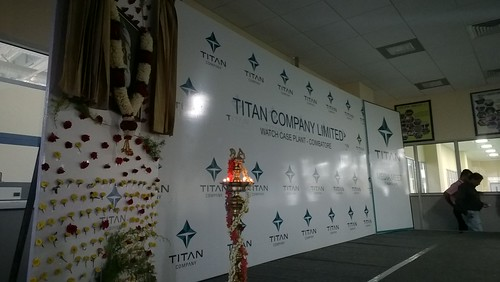 "Titan Watch Factory Press Meet • <a style=""font-size:0.8em;"" href=""http://www.flickr.com/photos/155136865@N08/41450727442/"" target=""_blank"">View on Flickr</a>"