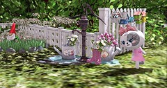 Cute Cat Family (Sannita_Cortes) Tags: mooh ohmygacha thegachalife decorating decoration furniture furnituredecor garden home secondlife sl virtualworld virtual