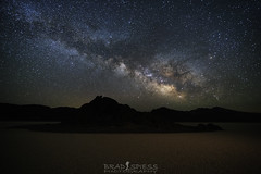 Grand Stand Milky Way (ihikesandiego) Tags: death valley national park race track playa grand stand milky way