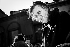 DSCF7883 (yann CM B) Tags: oslo grønland norway blackandwhite blackwhitepassionaward blackdiamond streetphotography candid fuji fixlens fujixt20 people