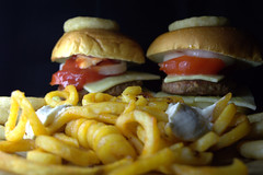 Homemade Cheese Burgers with Curly Fries (Tony Worrall) Tags: add tag ©2018tonyworrall images photos photograff things uk england food foodie grub eat eaten taste tasty cook cooked iatethis foodporn foodpictures picturesoffood dish dishes menu plate plated made ingrediants nice flavour foodophile x yummy make tasted meal nutritional freshtaste foodstuff cuisine nourishment nutriments provisions ration refreshment store sustenance fare foodstuffs meals snacks bites chow cookery diet eatable fodder chips burgers fries homemade buns bread