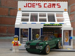 Joe's Cars (captain_joe) Tags: toy spielzeug 365toyproject lego minifigure minifig moc car auto mustang fordmustang fastback