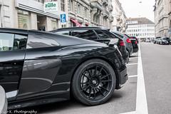 R8 V10 Plus 2015 (Nico K. Photography) Tags: audi r8 v10 plus 2015 black carbon supercars nicokphotography switzerland zürich
