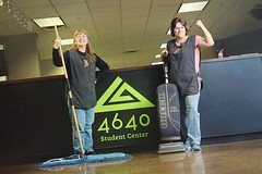 Can we just give a huge S/O to our cleaning ladies? They keep 4640 looking incredible. We love you!! 💚 - 4640 Student Center (4640) Tags: 4640 4640gj student center grand junction youth events church event colorado groups