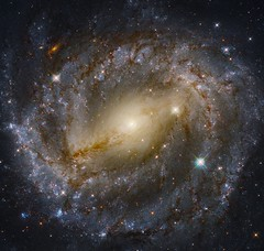 NGC 5643 (geckzilla) Tags: spiral galaxy barred activegalacticnucleus hubble hst blackhole visible nearinfrared