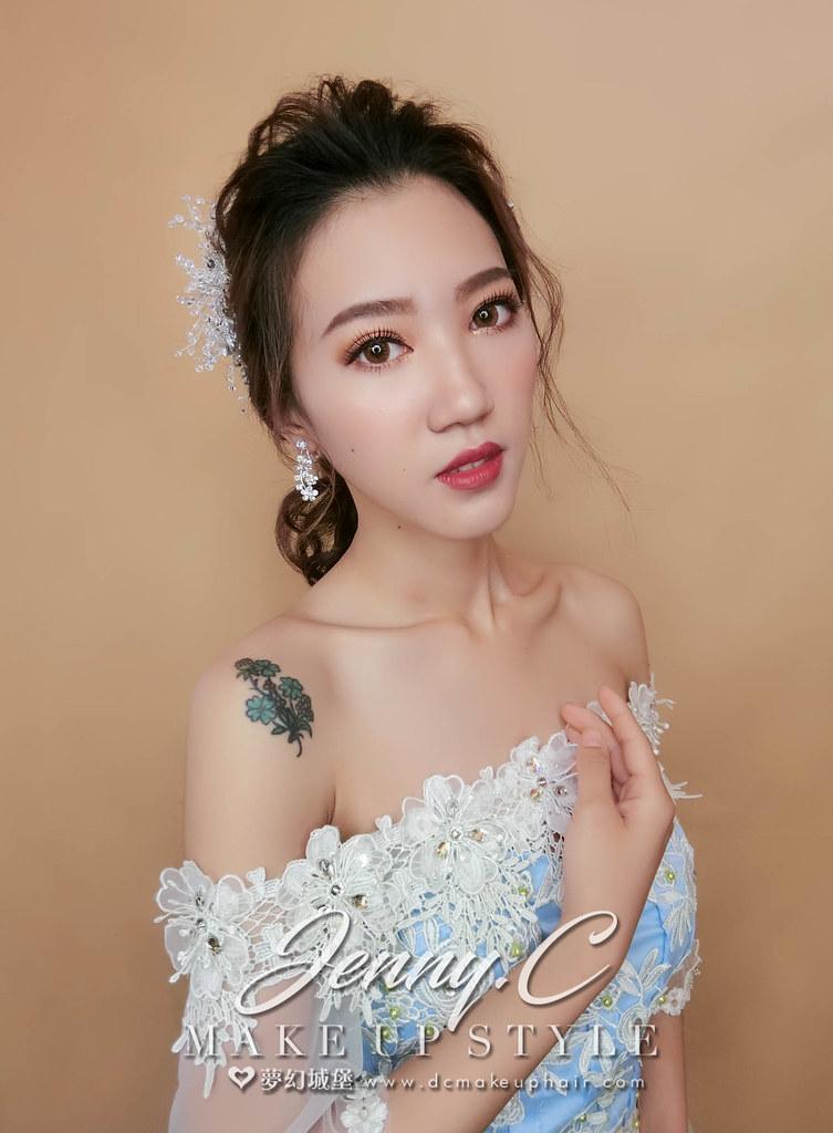 【新秘蓁妮】新娘造型創作 / 優雅女神