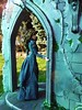 A-Z Challenge 2.0: D - Doorway (AHMH - Coutûre) Tags: fashiondoll ahmhcôuture late 1870s dress bustle natural form diorama