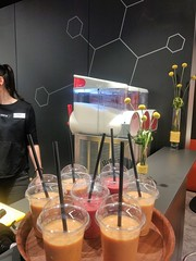 "2018 Hummer Event Cratering mobile smoothiebar Frankfurt Messe light and building~11 • <a style=""font-size:0.8em;"" href=""http://www.flickr.com/photos/69233503@N08/26118727257/"" target=""_blank"">View on Flickr</a>"
