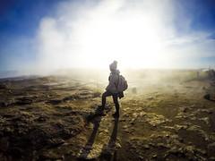Geysir Geyser (Melissa Osorio Photography) Tags: geyser geysir travel iceland smoke girl woman beautiful beauty landscape photo photography melissaosorio melissa osorio