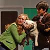 reunited... (R.A. Killmer) Tags: bulldog legally blonde natalia actors stage bethelpark musical 2018 costume