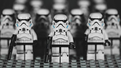 Squad (3rd-Rate Photography) Tags: stormtrooper starwars lego minifig minifigure toy toyphotography canon 5dmarkiii 100mm macro jacksonville florida 3rdratephotography earlware 365