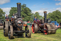 Shrewsbury Steam Rally 2017 (Ben Matthews1992) Tags: shrewsbury steam rally 2017 salop shropshire old vintage historic preserved preservation traction engine fowler agricultural general purpose 7nhp pride wye cf3795 burrell roller 4004 somerset yb2010