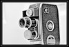"""BOLEX B8SL 8mm Cine Camera"" (in explore) (NikonShutterBug1) Tags: macro closeup nikond7100 macromondays tokina100mm spe smartphotoeditor backintheday blackandwhite bolex vintagecameras highkey 8mmcine blackwhitephotos"