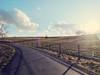 Wahlheimat Reinsfeld (Rheinland-Pfalz) (Antje_Neufing) Tags: reinsfeldrheinlandpfalz rheinlandpfalz reinsfeld weg sonne wetter landschaft wiese grün strase frühling märz sonnenschein