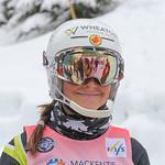 U14 Girls, Slalom. Kaila Lafreniere - 2nd Place. WMSC Canada PHOTO CREDIT: Matthew Sylvestre/Coastphoto.com
