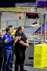 IMG_7938 (holytrinityrobotics) Tags: oakville omgrobots light event coverage robot robotics hersheyscentre gold mechanical electrical pneumatics onchampsfrc first firstcanada frc ontario tronic titans