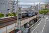 JR Kobe Line (Hideki Iba) Tags: railway jr japan kobe nikon d850 2470 鉄道 都市 urban 日本 神戸 兵庫 元町 motomachi hyogo number