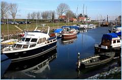Veere, Walcheren, Zeelande, Nederland (claude lina) Tags: claudelina nederland hollande paysbas zeelande zeeland veere boat haven port