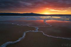 Nexus (Willie Huang Photo) Tags: california salt saltflat landscape water scenic sunset desert dry sony alpha nature