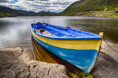 Killarney National Park, Ireland: Boat Rental No.1 (rocinante11) Tags: boat blue water lake killarney ireland killarneynationalpark cloudy ringofkerry countykerry canoneos7d