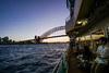 DSC01492 (Damir Govorcin Photography) Tags: ferry bridge sydney harbour people sunset golden hour wide angle zeiss 1635mm sony a7rii composition