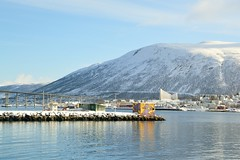 DSC_3176 (stephenholden46) Tags: tromso norway snow winter harbour arcticcircle