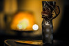 Gifted (Melissa Maples) Tags: münchen munich deutschland germany europe nikon d3300 ニコン 尼康 nikkor afs 50mm f18g 50mmf18g winter holidays christmas ribbon present gift yellow gold lights night bokeh