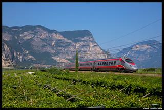 Trenitalia ETR.600, Mezzocorona 01-08-2017