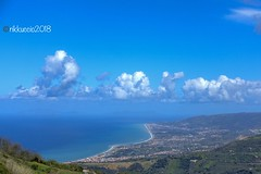 ... vista da SanFratello ...su costa nord Sicilia!! (rikkuccio) Tags: landscape mare sea coast messina sicily sicilia