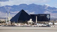 """Hidden in plain sight"" (Tony Osborne - Rotorfocus) Tags: las vegas strip luxor hotel egg janet boeing 737"
