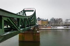 Eiserner Steg 02 (Sam García GA.) Tags: frankfurt germany europe eisernersteg bridge meno river