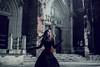 Goth girl (foxphotopl) Tags: goth girl gothic alternative alt corset wroclove wroclaw wrocław dress model models katedra gotycka gotyk alternatywna modelka gorset goresty suknia stylizacja