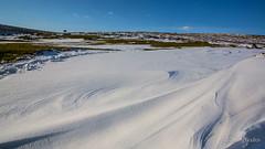 Wind patterns (JKmedia) Tags: boultonphotography march 2018 winter spring snow ice weather landscape moor bluesky blue dartmoor devon