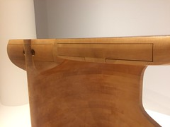 Desk, c. 1979, by Wendell Castle (C-Monster) Tags: highmuseumofart atlanta wendellcastle desk wood