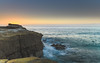 Sunrise Seascape and Headland (Merrillie) Tags: daybreak sunrise spoonbay nature australia surf wamberal centralcoast newsouthwales waves earlymorning nsw morning beach ocean sea landscape sky coastal waterscape outdoors seascape water coast dawn seaside