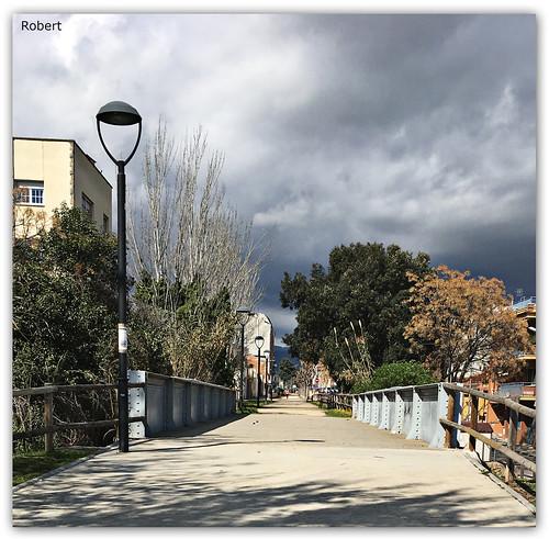 Les Franqueses del Vallés - puente ferroviario.