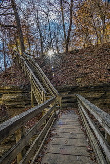 Fall at Clifty Falls