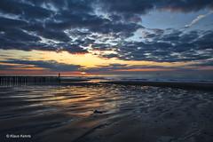 Cadand Bad - 26031806 (Klaus Kehrls) Tags: sonnenuntergang strand meer nordsee himmel cadzandbad niederlande