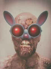 Happy Easter (dracorubio) Tags: horror dark zombie teeth eyes disturbing photoshop