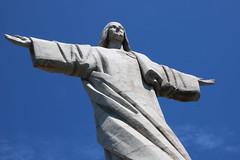Statue of Cristo Rei (robin denton) Tags: statue madeira cristorei garajau jesuschrist easter eastersunday christ christtheking sacredheart sculpture artdeco portugal