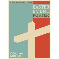 Free Vector Celebrate Easter With us Poster Template (cgvector) Tags: april background card celebrate cross decor decoration design easter element event festive flyer frame gift green greeting grunge illustration nature old pattern poster religion springtime symbol texture traditional vector vintage