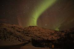 Kvaløya Aurora 11th March 2018 (Martin Third) Tags: norway scandinavia kvaløya arctic night nightshot longexposure aurora auroraborealis northernlights island troms grøtfjord road fjordvegan stars nightsky