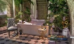 The Outdoor Bath house (:-parfaitsprinkles-:) Tags: stardust hive dustbunny zerkalo applefall halfdeer thor ariskea hpmd blushevent kurimukuma vespertine