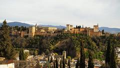 Alhambra - Granada (Manuel Chagas) Tags: alhambra granada olympus olympus1240f28 mzuiko1240f28 andaluzia espanha spain sunset manuelchagas mft m43 microfourthirds palace art arquitecture arquitetura construção construction
