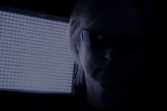 93/365 - That's me in the spotlight (katatomicuk) Tags: selfportrait selfie self me myself