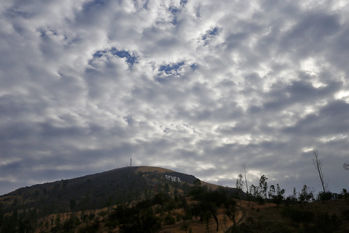 Futuro parque Metropolitano Nor Poniente Cerros de Renca.
